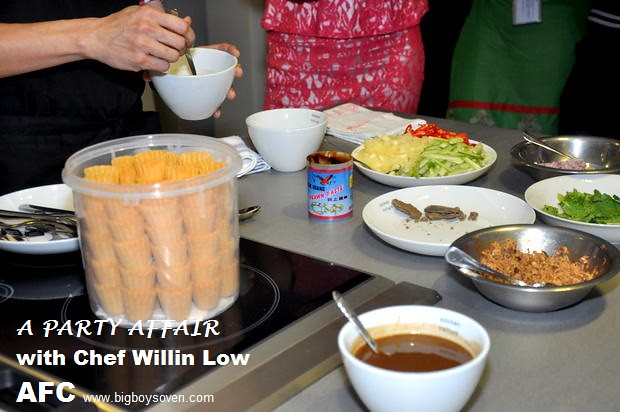A PARTY AFFAIR with Chef Willin Low AFC 2
