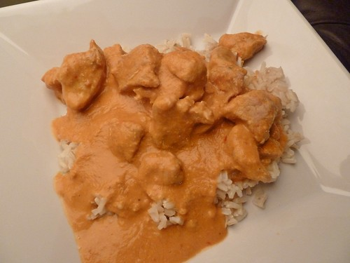 CrockPot Pork Tenderloin with Spicy Peanut Sauce