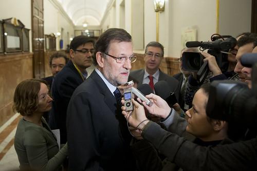 Rajoy asiste a la sesión de control al Gobierno en el Congreso (20/11/2013)