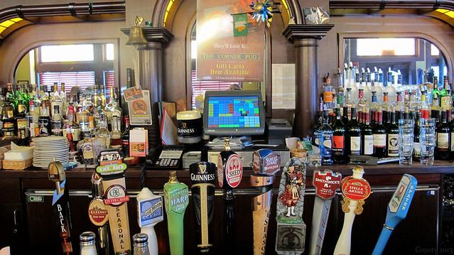 Corner Pug's bar