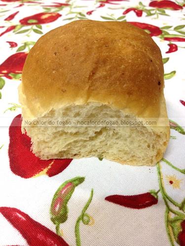Pão de batata e soro de iogurte - sozinho