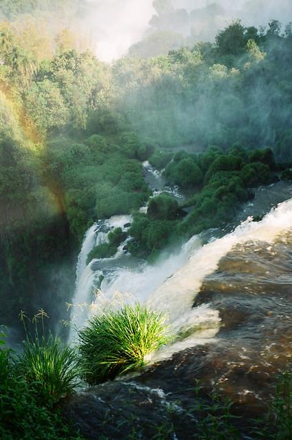 In Iguazu Falls, Argentina