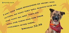 God gives singleness of heart and action, Jeeremiah