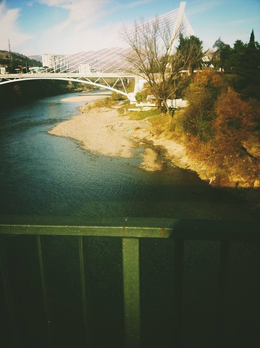 city bridge love nature river view capital millenium montenegro podgorica morača dublinfilter