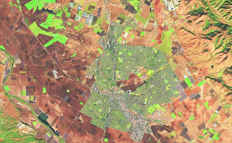 Landsat Pan Sharpening And Processing