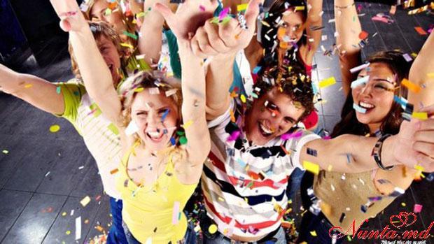 Ресторан «Oraşul Subteran» > Новогодняя корпоративная вечеринка в ресторане Orasul Subteran