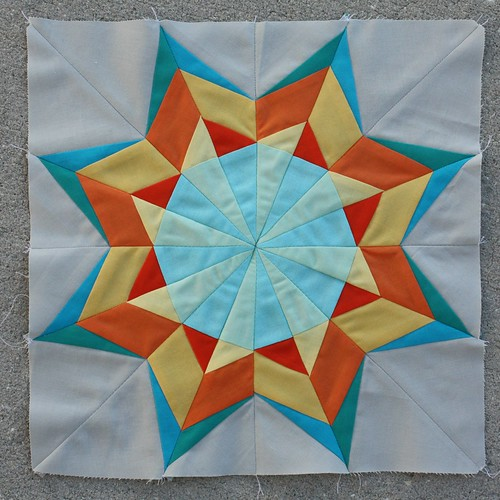 The January 2014 Lucky Star Block of the Month: The Sparkling Star
