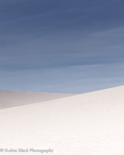 Minimalist Dunes, White Sands National Monument