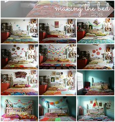 making the bed: 2013