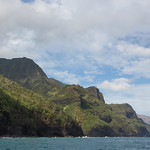 Sea caves and the Nā Pali Coast