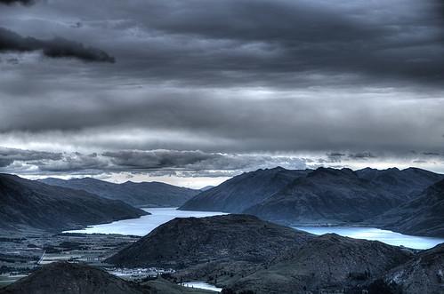 newzealand mountain landscape pentaxk30