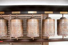 prayer wheels at Kodai-ji