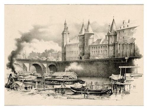 003-Souvenir du vieux Paris…1835- L.T. Turpin de Crissé- Institut National d'histoire de l'art- INHA