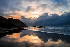 Wharakiki Beach Sunset