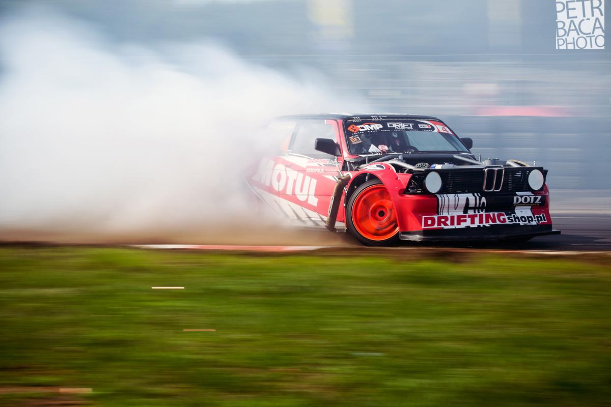 Driftingowe Mistrzostwa Polski 2013, DMP, Polska Federacja Driftingu, PFD, Tor Poznań, Drift Allstars 2013, final, Marek Wartalowicz, BMW E21, STW Drift Team,