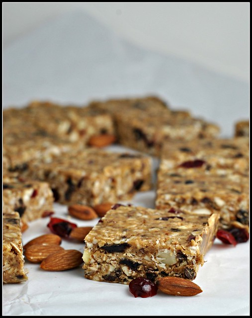 Peanut Butter Trail Mix Bars 4