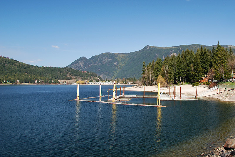 Mara Lake, Sicamous, Shuswap Lake, Eagle Valley, Shuswap, British Columbia, Canada