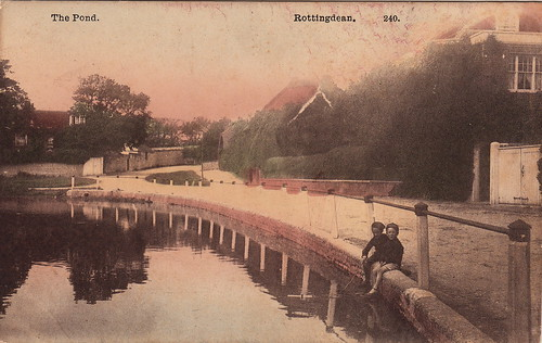 240. The Pond. Rottingdean (c.1910s)