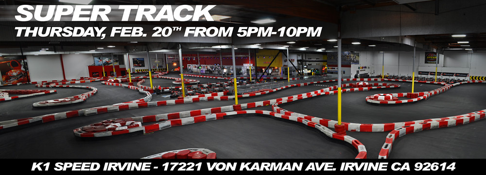 12509369095 25f7743328 b FIRST OPEN PUBLIC SUPER TRACK NIGHT AT K1 SPEED IRVINE!