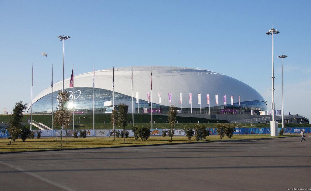 Олимпийский парк. Ледовый дворец Большой.