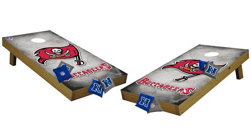 Tampa Bay Buccaneers Premium Cornhole Boards