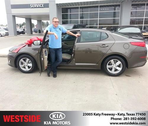 Westside KIA Houston Texas Customer Reviews and Testimonials-Andrew Platunov by Westside KIA