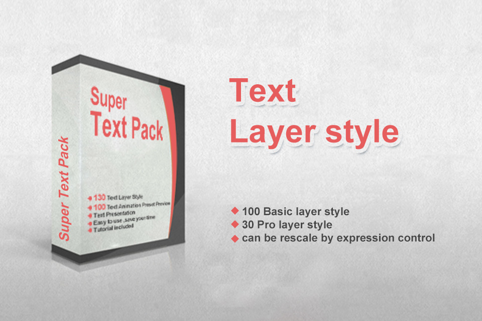 Super Text Pack - 1