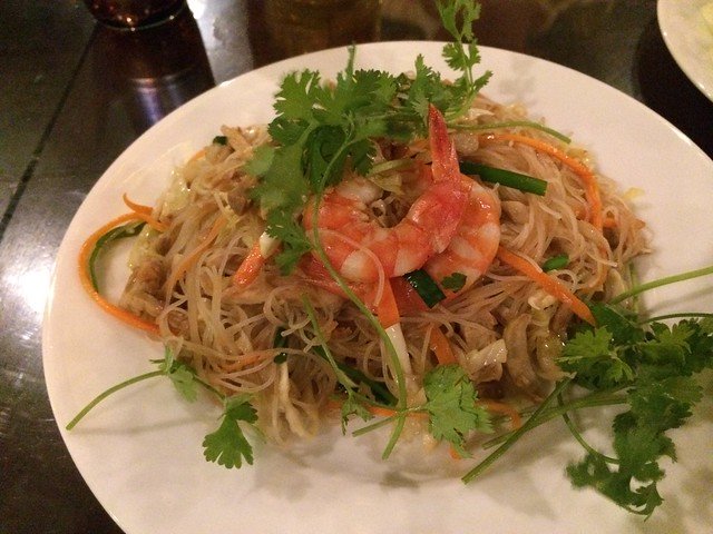 Pork and shrimp stir fried rice vermicelli - Nha Hang Ngon