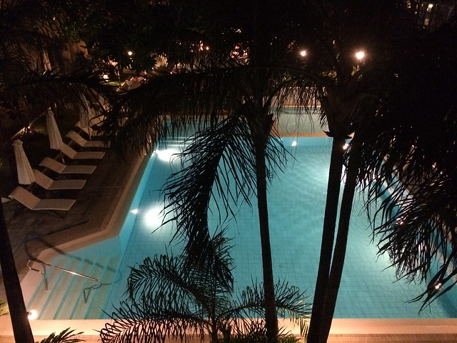 Main wing pool, Boracay Regency