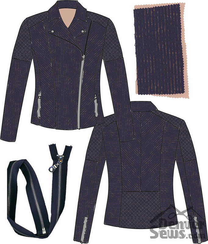 Ziggi Moto Jacket - Mood Board