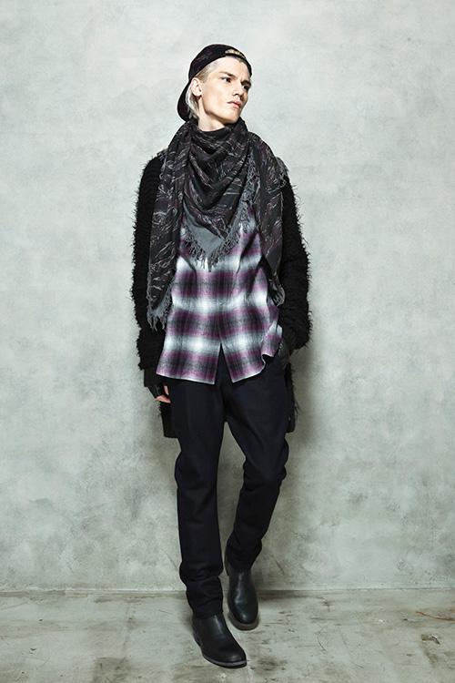 Nariman Malanov0018_FW14 KAZUYUKI KUMAGAI(Fashion Press)