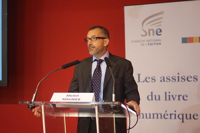 Michel Magnier, Directeur culture et média à la DG Education et Culture de la Commission européenne