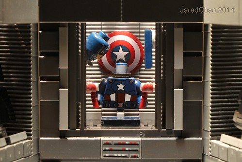 Captain America - The Helicarrier suit room