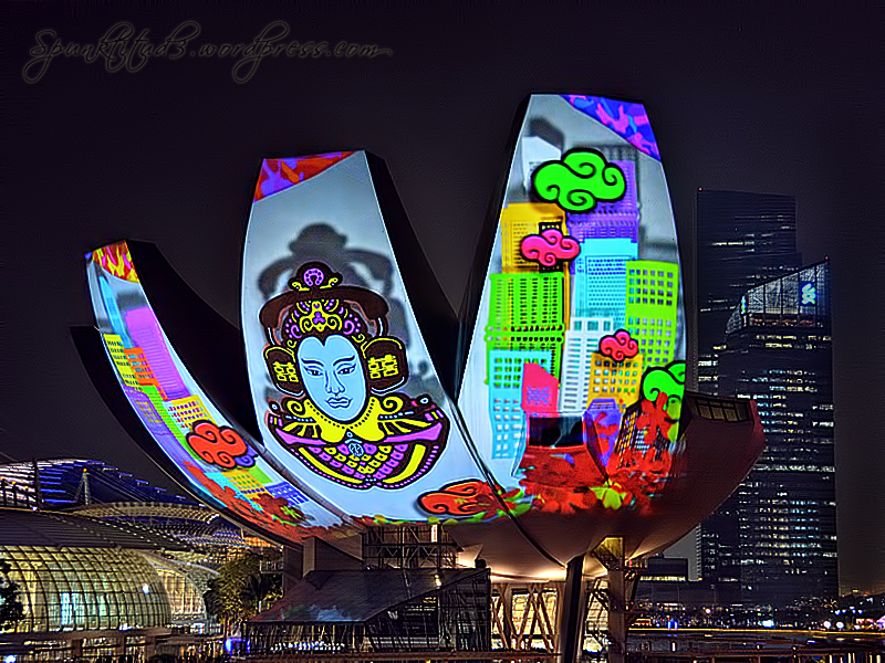 i Light Marina Bay - CELEBRATION OF LIFE