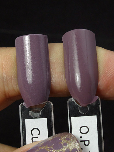 Cult Nails My Kind Of Kool Aid vs. O.P.I. Parlez-Vous OPI?