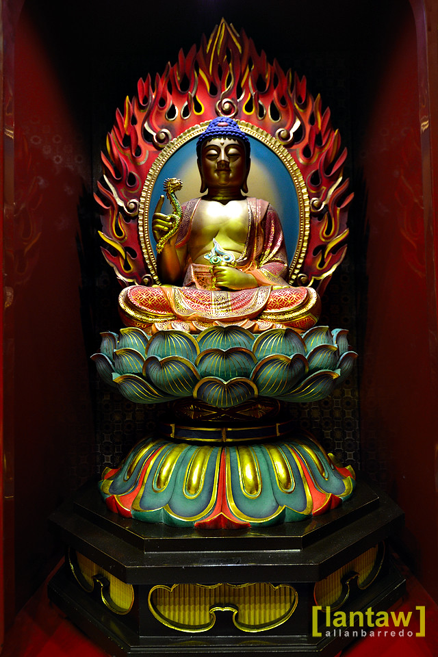 One of the 100 Buddhas
