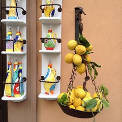 Limoncello shop in Amalfi. #travelgram