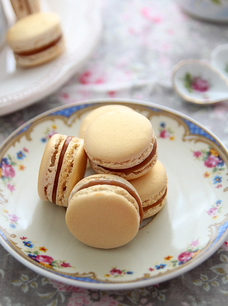 Macarons Recipe French French Macarons With Salted