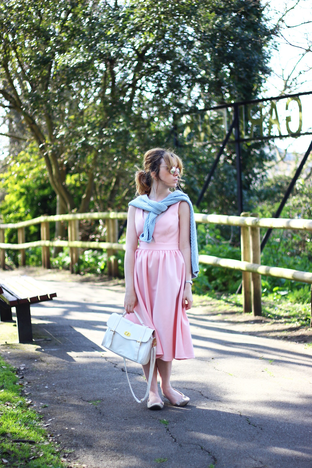 1pasteloutfit, pastel, asos, pink, blue, spring, summer, 2014, trend, fashion, style, retro, cat-eye sunglasses, knitwear, 50's, vintage, inspired, high street, personal style, stylepeaches, blog, outfit, look