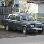 Transsibérien - Les bagnoles russes