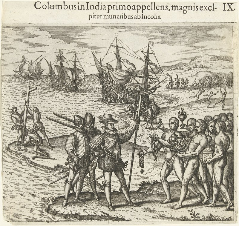 coining columbus the public review de bry columbus