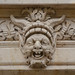 Smiling man with horns - mascaron, Sceaux by Monceau