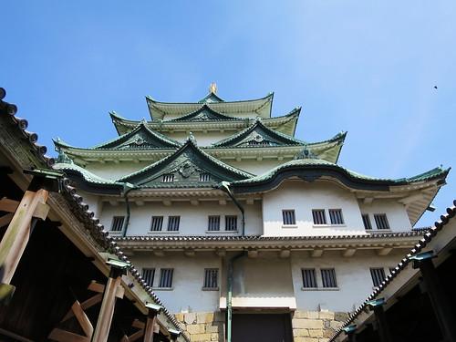 Château de Nagoya - vue depuis son entrée