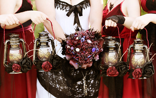 Bouquet and Lanterns