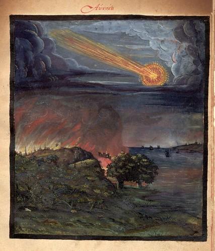 011-Aurora de fuego-Kometenbuch -1587-Universitätsbibliothek Kassel