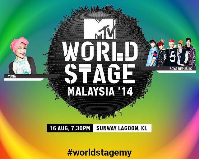 Logo MTV Wprld Stage 2014