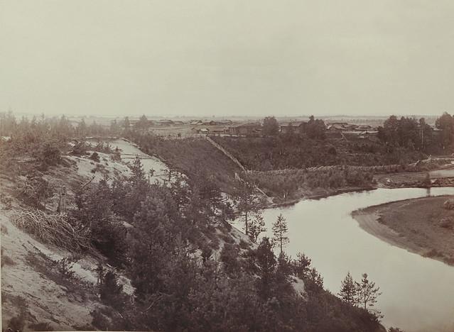 Uhutjoen maisema Lamminpohjan kylänosan kohdalla
