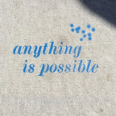 Anything is possible #bernalwood #100happydays #day58