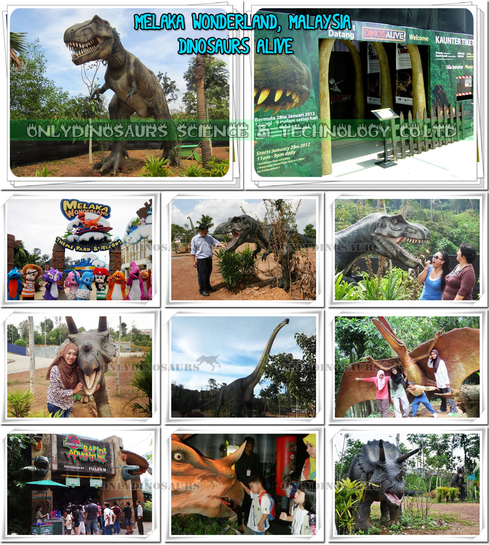 Melaka Wonderland Dinosaurs Alive