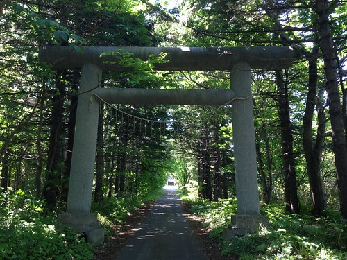 rishiri-island-rishiriyama-shrine-outside-approach